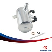 Wholesale PQY RACING mm quot BARB POLISHED ALUMINIUM OIL CATCH CAN BREATHER TANK RESERVOIR Height mm PQY TK3204