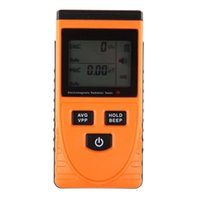 Wholesale LS4G Professional Digital LCD Electromagnetic Radiation Detector Meter Dosimeter Tester Without Battery
