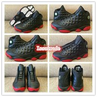 Wholesale Famous Trainers Retro XIII Men s Sports Basketball Shoes black infrared Size
