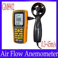 air flow anemometer - Air Flow Anemometer GM8902 measure range m s