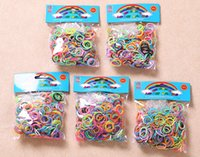 Wholesale NEW hot Loom bands pc Dual layer bands tie dye with gold Glitter rubber bands best gift for kids