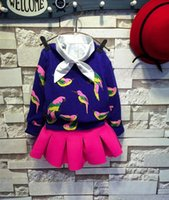 Girl best brand sweaters - Brand New Girls Autumn Latest Style Fashion Sweater Best Sale Kids Colorful Bird Knitting Pullover