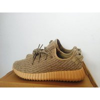 Cheap Luxury Yeezy 350 Boost Oxford Tan Running Shoes Moonrock Yeezy 350 Boost Athletic Shoes With Box