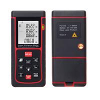 Wholesale Digital Laser Distance Meter Range Finder Measure Distance Rangefinder Area Volume with Bubble Level Measurer RZE m ft