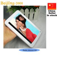 Wholesale 7inch Phablet Allwinner A23 G GSM Phone Tablet PC with Sim Card Slot M G Bluetooth Dual Camera Android Dual Core GSM tablets