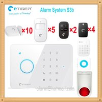away systems - Etiger S3b languages Dutch Netherlands menu intrusion intruder drive away alarm gsm security system