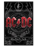 ac dc sticker - 50x75CM Wall Sticker Gift Home decoration AC DC Black Nice Chris Home Retro High Quality Office Room Poster Affiche Cartel