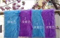 Wholesale cm Faux Fur Blanket Basket Stuffer Mongolia Fur Photography Props Newborn Photography Props