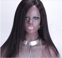 light bank - Great Quality instock Straight Silk Base Wig Italian Virgin Brazilian Silk Top Lace Front Wig Glueless Full Lace Human Hair Wigs No Silk