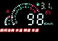 Wholesale Car HUD Head Up Display Vehicle mounted Security System With OBD2 OBD Interface Overspeed Warning Fuel Consumption W01