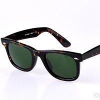 Wholesale 50mm sunglasses plank frame glasses lens new arrival men women sun glasses freeshipping