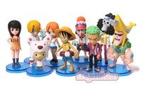 beach collection holidays - new cm One Piece luffy Joba beach holiday set PVC Action Figure Collection Model Toy Gift OP9