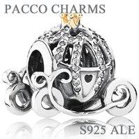 cheap pandora bracelet beads - Fit Pandora Bracelets Charms Beads Sterling Silver Jewelry Outlet Cheap DIY Making LADYBIRD European For Women New