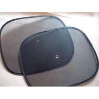 Wholesale 1Pair Summer Mesh Car Side Rear Window Sun Shade Cover Visor Shield Screen