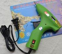 Wholesale 30W V V Safe Plastic Hot Glue Gun Alloy Nozzle Hot Melt Glue Gun With Switch Handy Power Tools