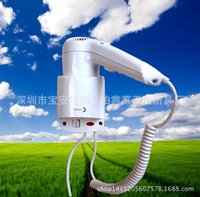 Wholesale Manufacturers selling foreign trade hotel hair dryer hang a wall hair dryer the hair dryer room salon