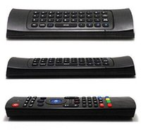 air mouse gyro - X8 MX3 G Wireless Fly Air Mouse Keyboard Gyro For M8S MXQ MXIII K Android TV Box Remote Control MIC Ghz