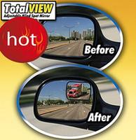 Wholesale Hot DHL Total View Adjustable Blind Spot Mirror Car View Adjustable Design