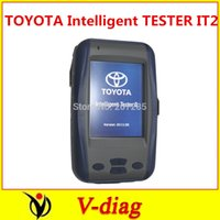 Cheap 2014.8V TOYOTA Intelligent Tester IT2 for Toyota and Suzuki without oscilloscope Professional Auto Scan Tool Toyota IT2