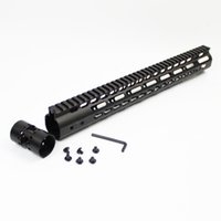 Wholesale 15 inch Ultralight Key Mod Free Float Handguard NSR Rail Mount Forend