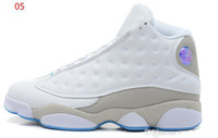 Wholesale Famous Trainers Retro XIII Men s Sports Basketball Shoes Barons Size