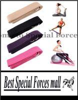 Wholesale MXZ cm Long Type Yoga Stretch Strap Training Belt Waist Leg Fitness Gym Gym D Ring Pilates Fitness Figure Waist Leg