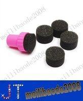 Cheap free shipping New Arrive Sponge Nail Art Set Stamping Art Kit With 5 Sponges MYY10729A