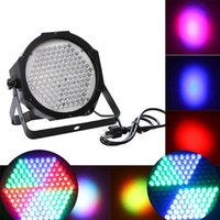 Wholesale Professional RGB LED Effect Light DMX512 CH Par Lights DMX Disco DJ Party Show Stage Lighting US EU PLUG