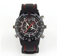 audio video sales - Hot sale G waterproof wrist spy watch hidden camera with video camera and audio function