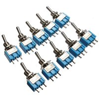 Wholesale 10 MTS Pin SPDT ON ON AC A V A V Mini Toggle Switch