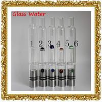 Cheap Pyrex Glass Hookah atomizer vhit atomizer tank Dry Herb Wax Vaporizer herbal vaporizers pen water filter pipe 2015 rda atomizer e cigarette