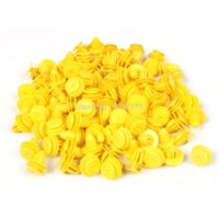 Wholesale 100 x14x10mm Yellow Car Plastic Rivet Fastener Replacement rivet steel rivet fastener rivet fastener