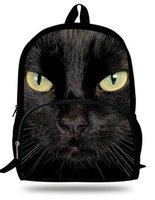 Wholesale 16 inch Cat Bag Kids Backpack Animals School Bags For Teenagers Womens Backpack Mens Travel Gilrs Children School Backpacks
