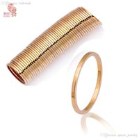 Cheap Wholesale - 2015 New Hot fashion selling Gold Thin Shiny Rings, Gold Midi Knuckle Ring Free shipping