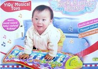 Wholesale New Hot Baby Kid Child Piano Music Fish Animal Mat Touch Kick Play Fun Learning Education Toy Gift New baby play mat TY682