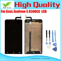asus good brand - 1pcs High quality good testing LCD Screen For Asus Zenfone A500CG touch screen LCD Screen assembly with opening tools