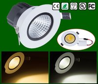 Wholesale Superbright W LED COB downlight integrated surface light source AC V LED Ceiling down light