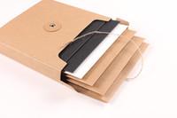 cd storage box - Kraft Paper CD DVD Sleeves Gift Packaging Packing Envelopes Organizer Storage Box Paperboard Cardboard