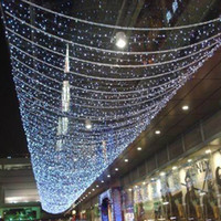 christmas lights and decorations - 30m White V Led Light String Home and Garden Christmas Party Stage Wedding Fairy Decoration Outdoor Tree Lighting Show Rope Lights