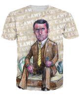 anchorman shirt - Unisex Women Men Sport tops Anchorman inspired Brick Tamland T Shirt sexy tee Casual Summer Style Fashion Clothing tshirt