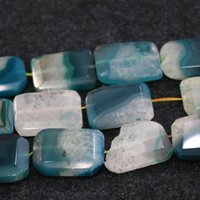Wholesale 10pcs Strand Blue Druzy Agate Gemstone Beads Natural Slice Slab Drusy Druzy Agate Necklace Pendant Connector Jewelry Making