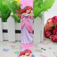 ariel bow - 7 quot mm Cartoon Pinnk Princess Ariel Printed Grosgrain Ribbon for Girl Hair Bow DIY Decos Yards