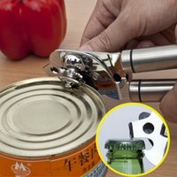aluminum milk cans - 18 stainless steel can opener to open canned food exported to Germany shipping multifunction knife milk can opener to open