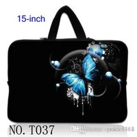 asus laptop blue - Stylish Blue Butterfly laptop Notebook Sleeve Carrying Case Bag For quot quot HP Pavilion ASUS