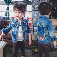 baby boy denim jacket - Boys Jacket Baby Coats Child Clothes Kids Clothing Spring Autumn Coat Kids Jackets Children Outwear Boy Denim Jacket Lovekiss C21201