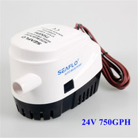 automatic submersible pumps - 750 GPH White Submersible Auto Bilge Pumps Seaflo Automatic V Bilge Pump with Retail Package BOAT0001