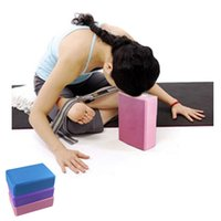 Wholesale New Yoga Block Brick Foaming Foam Home Exercise Practice Tool quality first