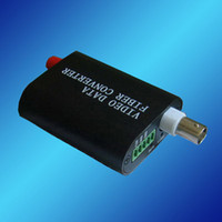 Wholesale Video to Optic Media Converter Video over Fiber Transceiver Video Transmitter Receiver Video Optical Mulplexer SM SX km