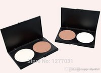 Wholesale MYG Slimming Face Sharp Pressed Powder Light Dark Color Facial Repairing And Beauty Powder Makeup Tools