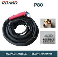Wholesale High Quality Riland Original Meter P80 Cutting Torch For LGK60G LGK80G LGK100IJ Air Plasma Cutting Torch Welding Torch P80